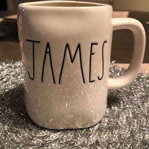 Rae Dunn James Mug!
